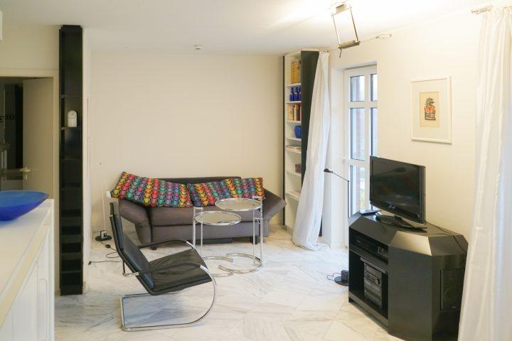 Wohnzimmer App. 201 Strandburg Juist