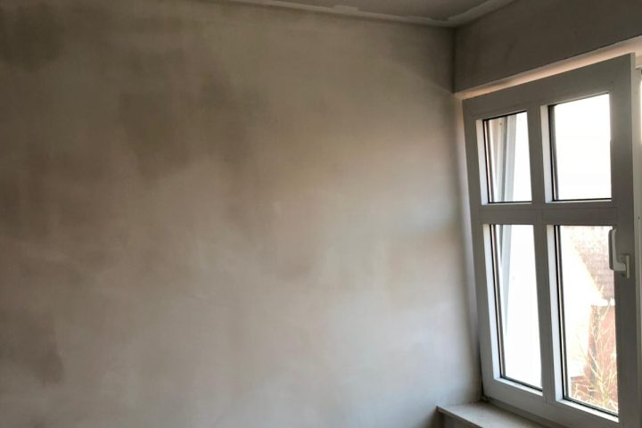 Kleines Schlafzimmer Wand zum Wohnzimmer