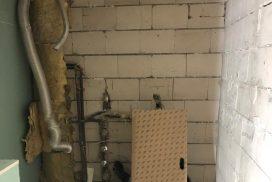 Badezimmer im Rohbau