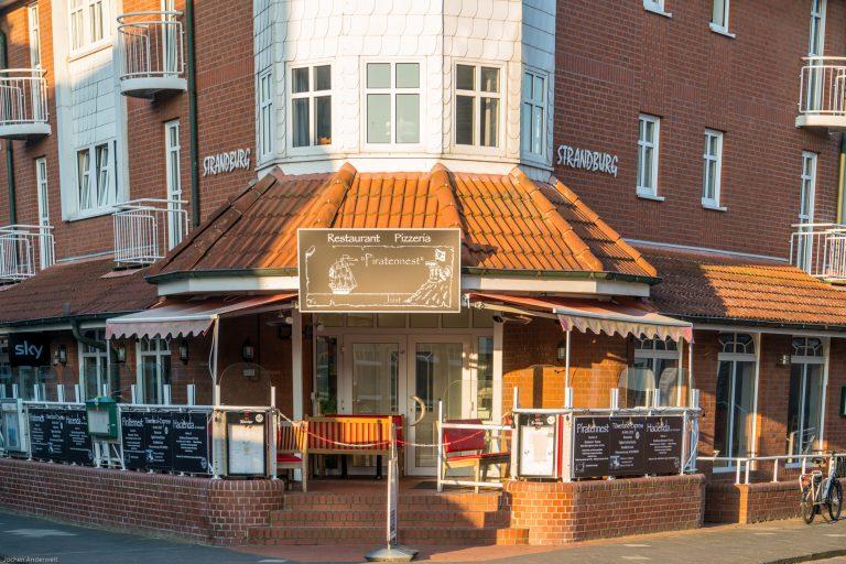 Restaurant und Pizzeria Piratennest in der Inselresidenz Strandburg Juist