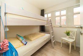 Etagenbett im Kinderzimmer von Juist-Traum