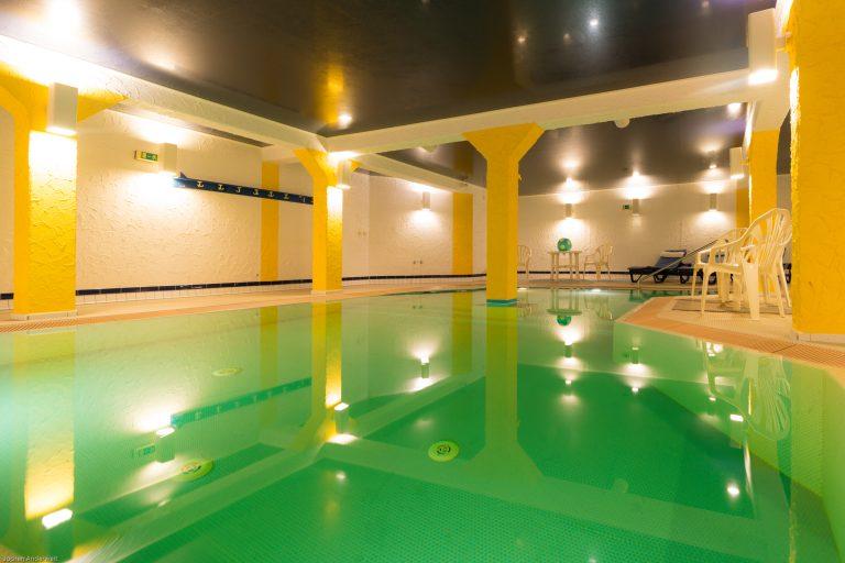 Schwimmbad in der Inselresidenz Strandburg Juist